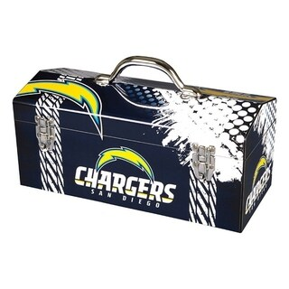 Sainty International San Diego Chargers 16.3 in. Tool Box Steel