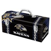 Sainty International  Baltimore Ravens  16.3 in. Tool Box  Steel