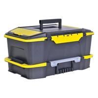Stanley  Tool Box  19.9 in. L Plastic