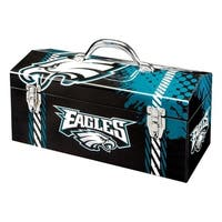 Sainty International  Philadelphia Eagles  16.3 in. Tool Box  Steel