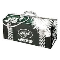 Sainty International  New York Jets  16.3 in. Tool Box  Steel