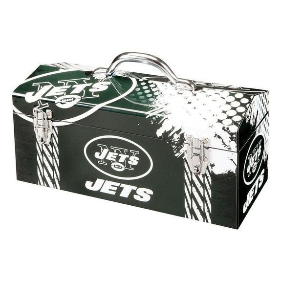 Shop Sainty International New York Jets 16.3 in. Tool Box Steel - Free  Shipping Today - Overstock.com - 20168199 d242a6785