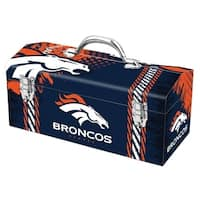Sainty International  Denver Broncos  16.3 in. NFL  Tool Box  Steel