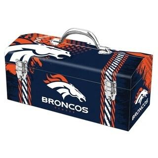 Sainty International Denver Broncos 16.3 in. NFL Tool Box Steel