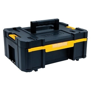 DeWalt TSTAK Single Deep Drawer Tool Box Plastic 17.25 in. L