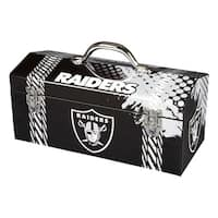 Sainty International  Oakland Raiders  16.3 in. NFL  Tool Box  Steel