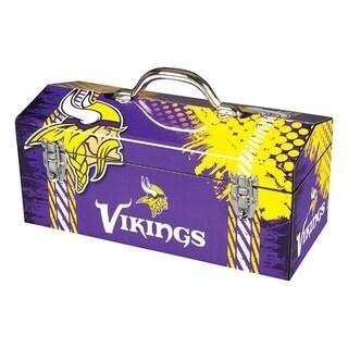 Sainty International Minnesota Vikings 16.3 in. Tool Box Steel