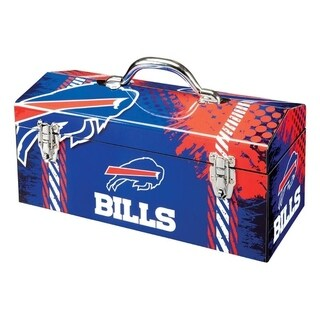 Sainty International Buffalo Bills 16.3 in. Tool Box Steel