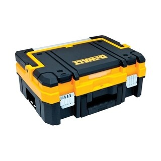 DeWalt TSTAK 17.3 in. L Long Handle Tool Box Plastic
