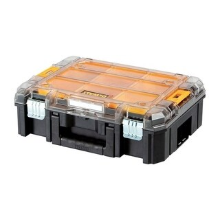DeWalt TSTAK Organizer with Clear Lid Plastic 17.16 in. L