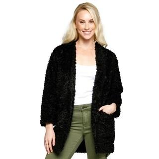 Xehar Womens Lightweight Winter Warm Soft Fuzzy Coat