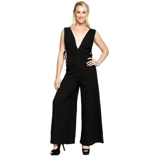 Xehar Womens Sexy Sleeveless Long Flare Romper Playsuits Jumpsuits