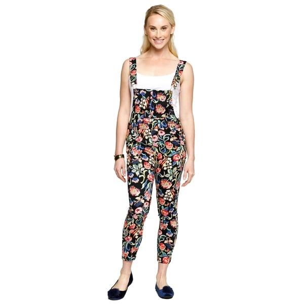 d4b7661c8c Shop Xehar Womens Casual Floral Print Overalls Jumpsuits Playsuits ...