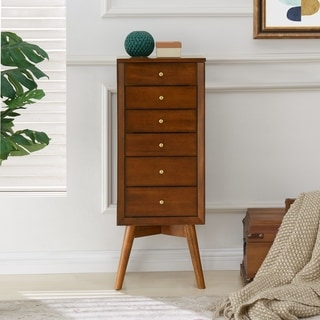 Link to Carson Carrington Nykobing Jewelry Armoire Similar Items in Living Room Furniture