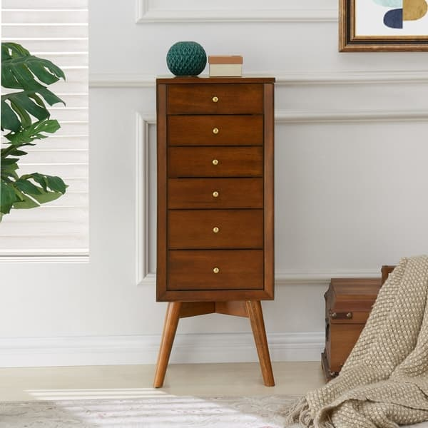 Carson Carrington Nykobing Jewelry Armoire On