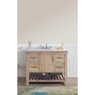 "Marina 42"" Bathroom Vanity Driftwood Finish"