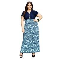 Xehar Womens Plus Size Sexy Sleeveless Floral Wrap Long Maxi Dress