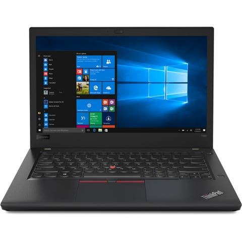 "Lenovo ThinkPad T480 20L5001BUS 14"" Notebook - 1920 x 1080 - Core i5 i5-8250U - 8 GB RAM - 128 GB SSD"