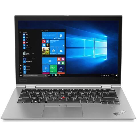 """Lenovo ThinkPad X1 Yoga 3rd Gen 20LF000KUS 14"""" 2 in 1 Ultrabook - 2560 x 1440 - Core i7 i7-8650U - 16 GB RAM - 512 GB SSD - Sil"""
