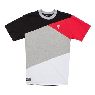 BLVD Supply Mens Align Skateboard Short Sleeve Crewneck T-Shirt