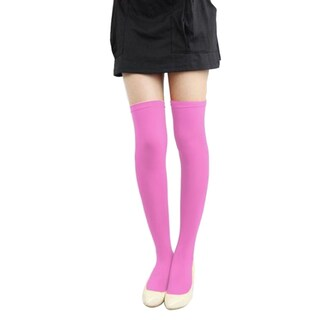 Women's Over-the-Knee Compression Stockings (Option: Pink)