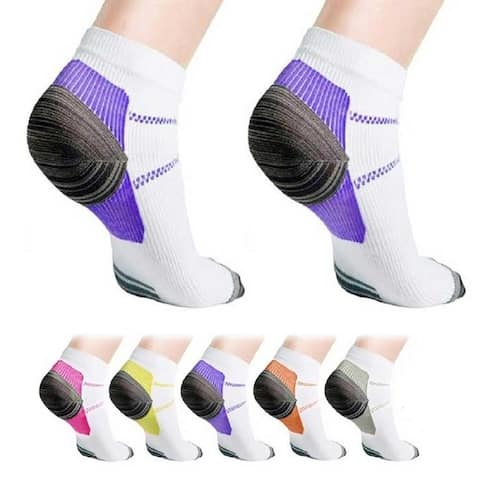 Ankle Compression Socks for Men and Women, 3 Pair