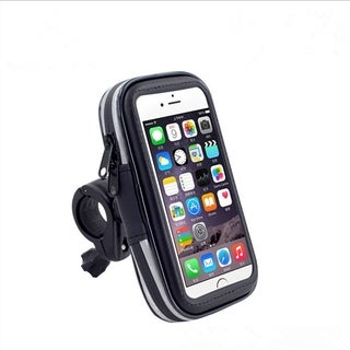 Waterproof Bike and Motorcycle Smartphone Handlebar Mount and Case