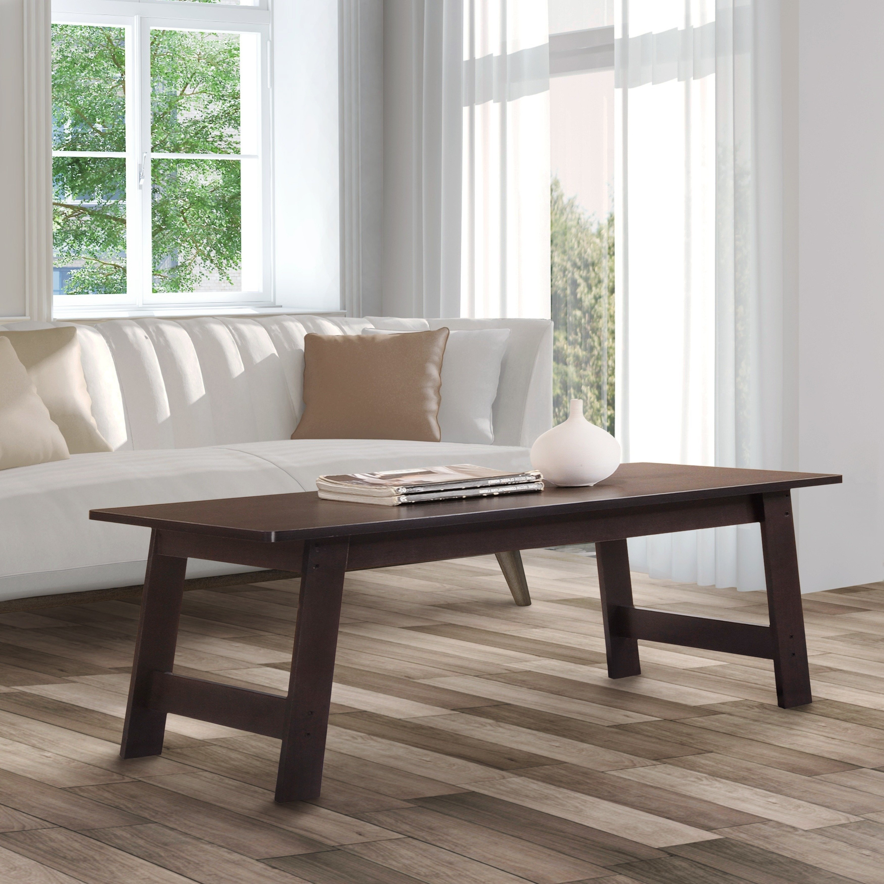 Furniture Of America Itzel Modern 3 Piece Coffee And End Table Set