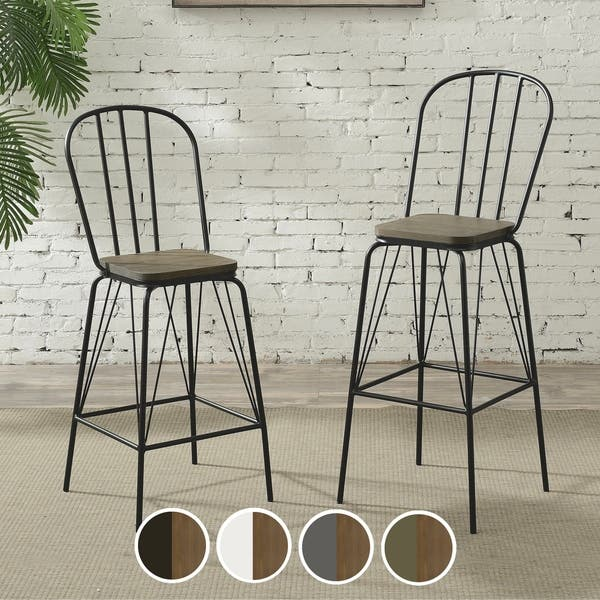 Awe Inspiring Shop Jack Modern Counter Height Chair Set Of 2 By Foa On Gmtry Best Dining Table And Chair Ideas Images Gmtryco