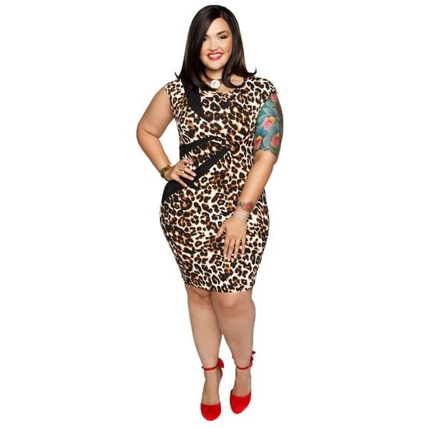 cbb890cf6cc Shop Xehar Womens Plus Size Leopard Print Bodycon Sexy Dress - Free ...