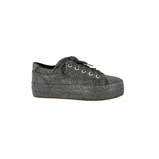 Xehar Womens Glitter Lace Up Platform Fashion Sneakers (More options available)