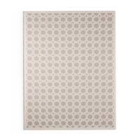 Carson Carrington Brekstad Trellis White/ Grey Area Rug - 7'6 x 9'6