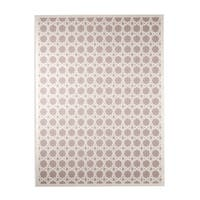Maison Rouge Avery Trellis White/ Grey Area Rug