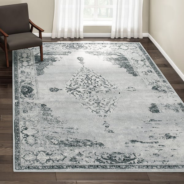 Maison Rouge Engle Traditional Vintage Abstract Area Rug