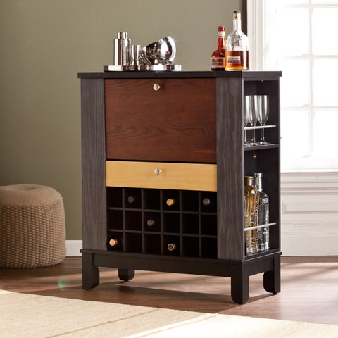 Strick & Bolton Heywood Wine/ Bar Cabinet
