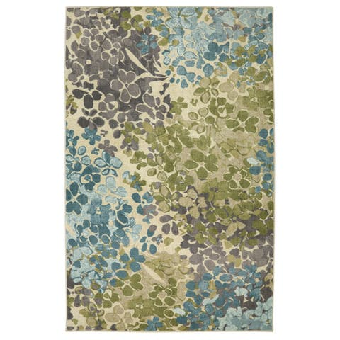 Mohawk Home Abstract Floral Radiance Area Rug