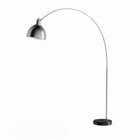 Carson Carrington Langevag 75-inch Marble Base Modern Floor Lamp