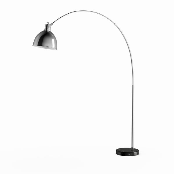 Strick & Bolton Tristano 75-inch Marble Base Modern Floor Lamp