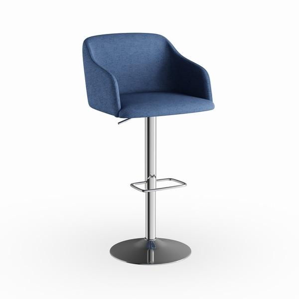 Strick & Bolton Lambert Contemporary Adjustable Barstool