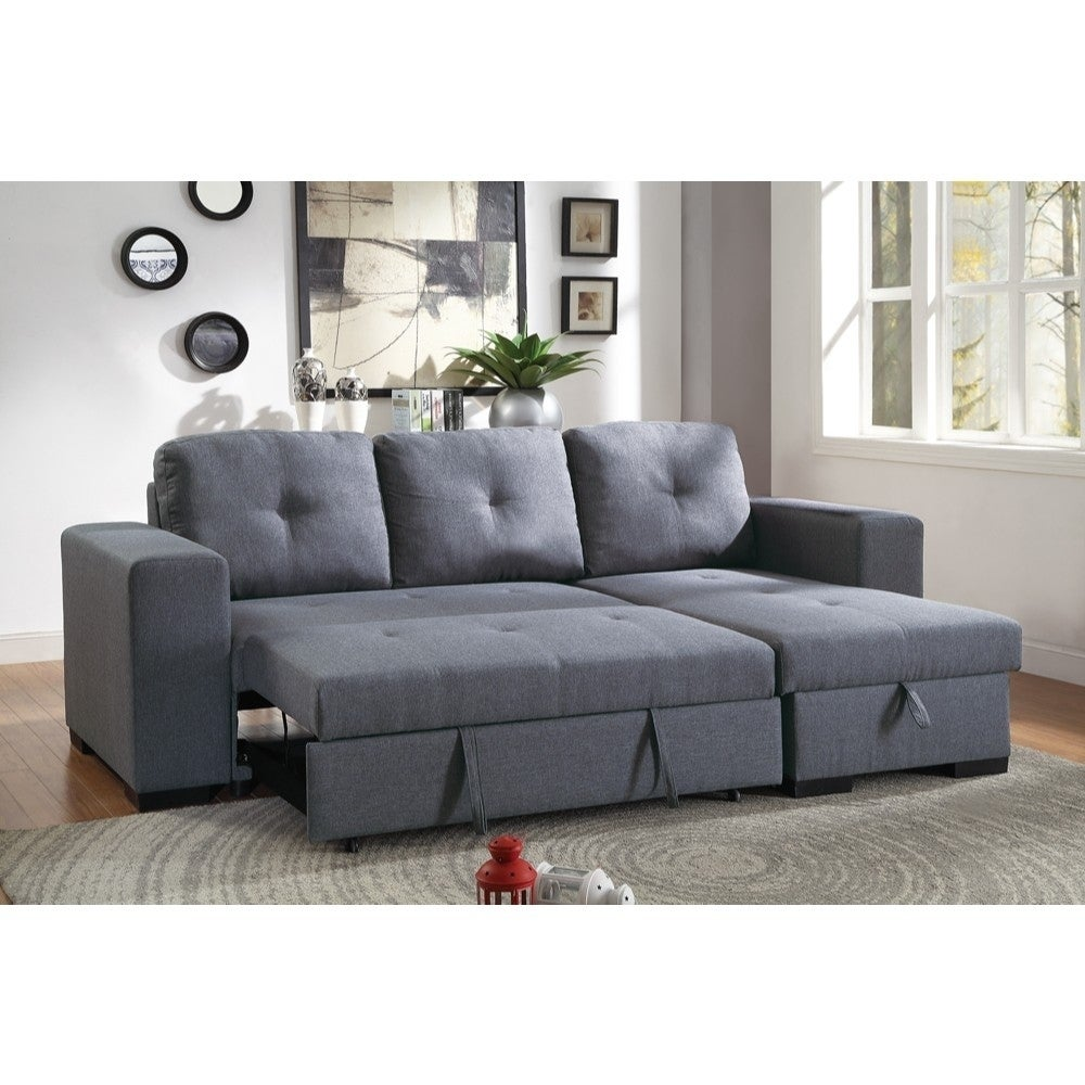 2 Piece Convertible Sectional Sofa