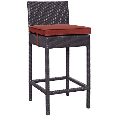 Journey Outdoor Patio Fabric Bar Stool