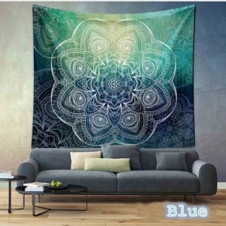 Boho Style Handmade Tapestry Wall Hanging Blanket Art Wall Decor for Living Room/Bedroom 59*51 inch