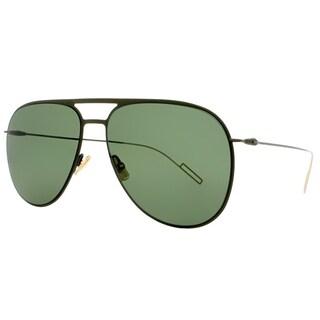 Dior Aviator Dior 0205/S O0D Unisex Khaki Frame Green Lens Sunglasses