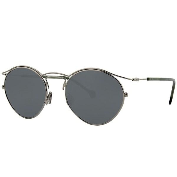 8ac323b6081d Dior Round DiorOrigins 1 3YG T4 Women Light Gold Frame Silver Mirror Lens  Sunglasses
