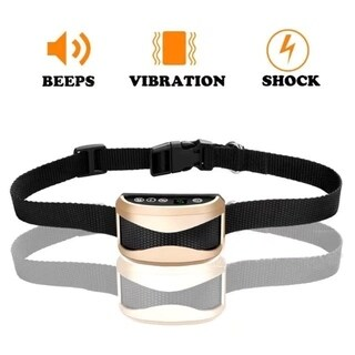 Electric Shocks Rechargeable Dog Training Collar