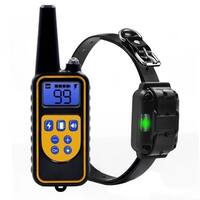 Pet Dog Training Collar IP6X Diving Waterproof LCD Display