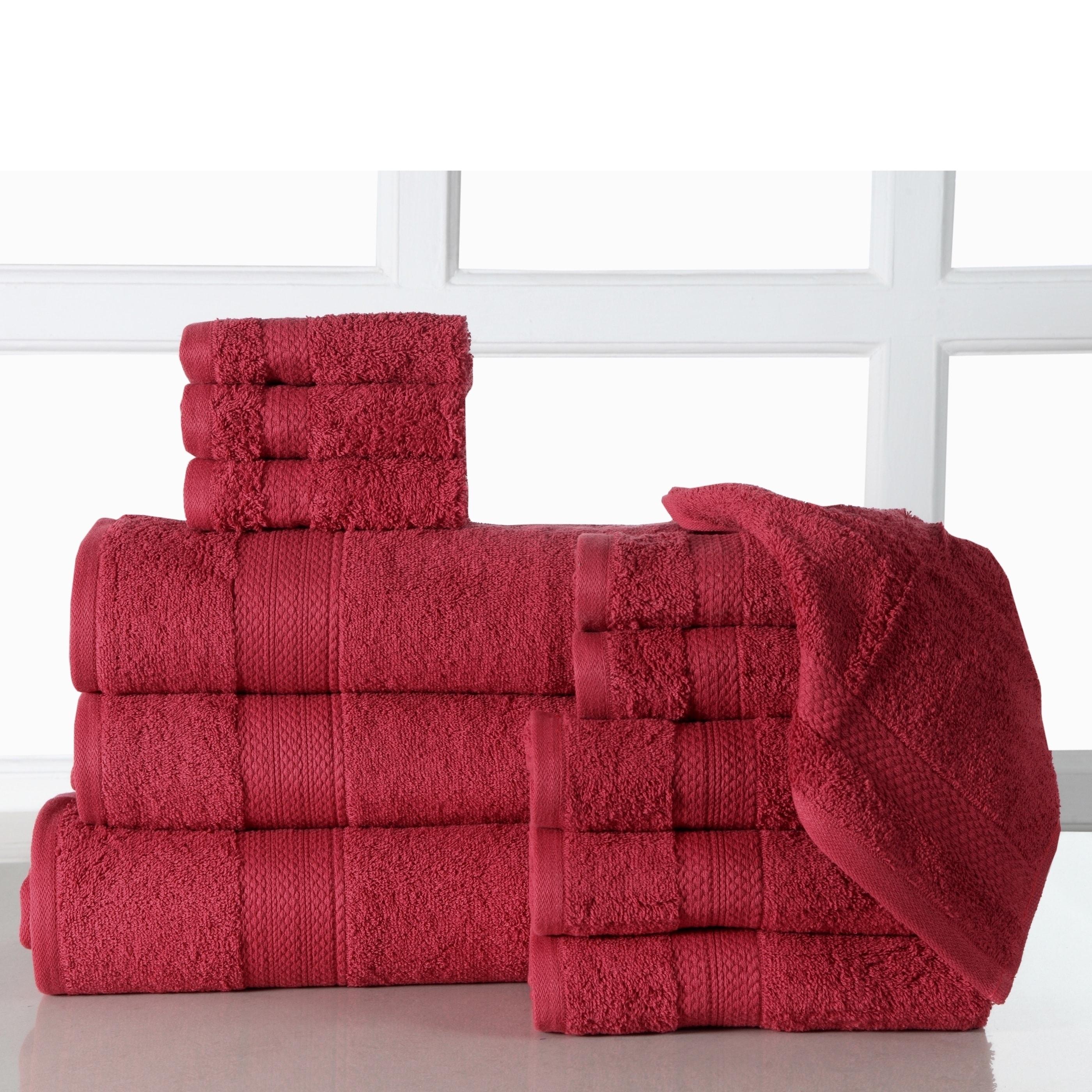 Cotton Super Soft Towels Hand Bath Plaid Checks Towel Sheet US Stock 2019