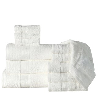 12-Piece Bath Towel Sets with Oversized Bath Sheet