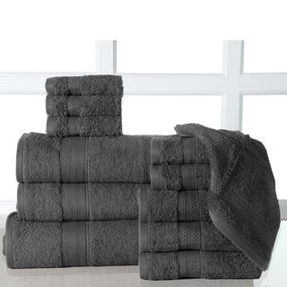 12 Piece Bath Towel Sets With Oversized Sheet