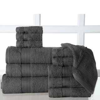12 Piece Bath Towel Sets With Oversized Bath Sheet